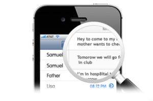 app to spy on text messages