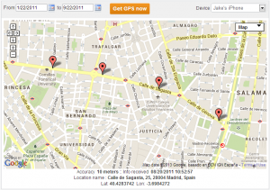 Android Cell Phone Location Tracking
