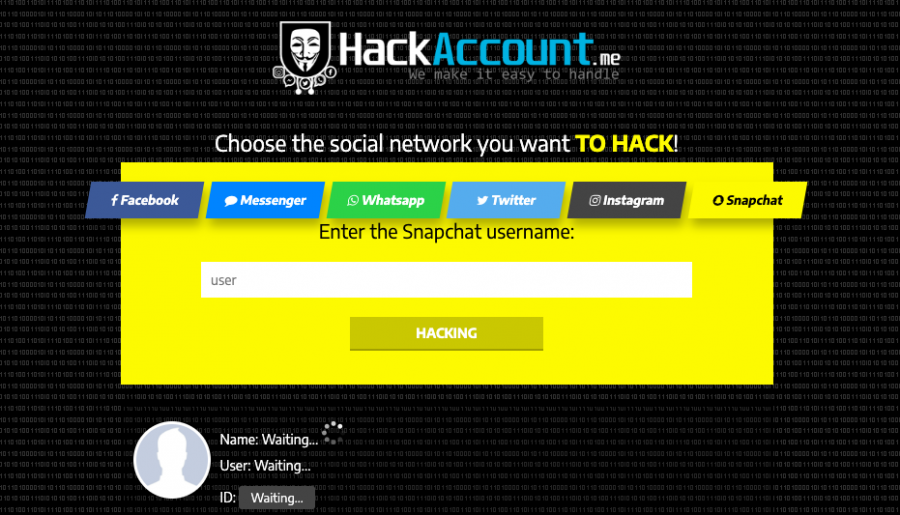 hack snapchat free online