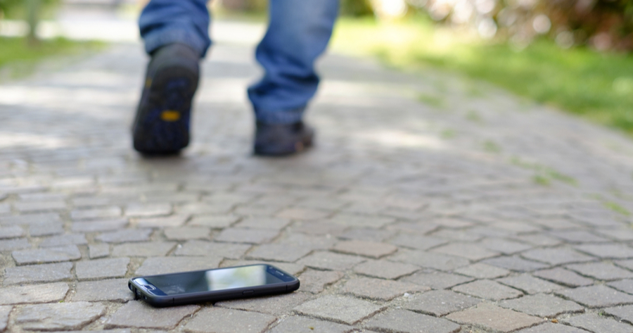 lost samsung phone