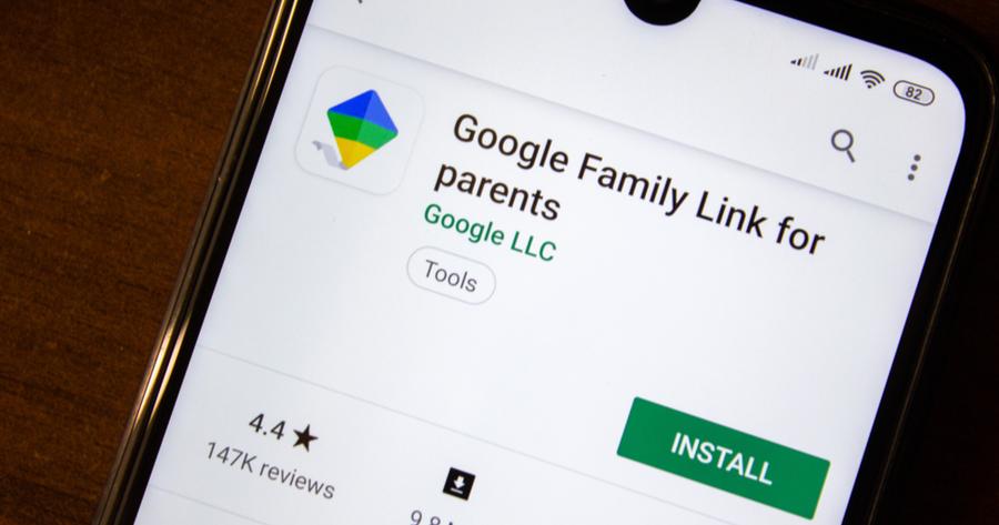 google family link app play store samsung