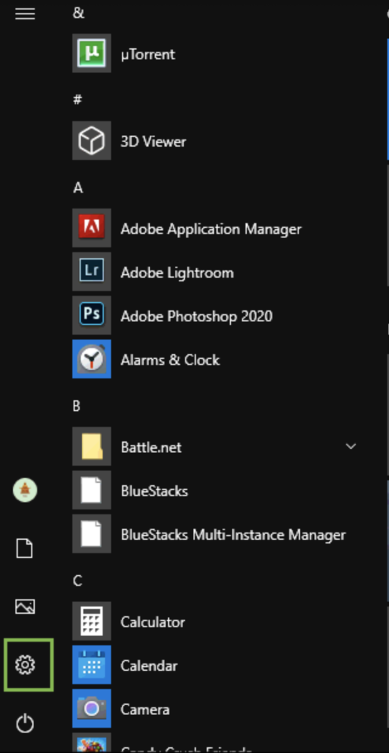 Windows 10 start dark mode