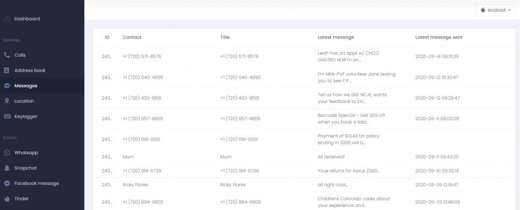 umobix iphone message hack tool